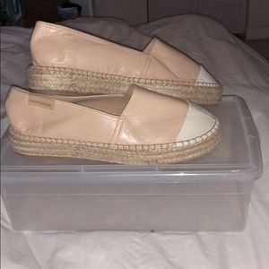 Shoes - Mint&Rose Espadrilles (Sand-Soft Leather)